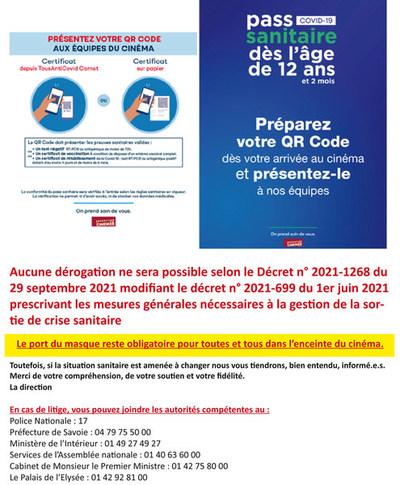 Le contrôle du pass sanitaire à compter de 12 ans et 2 mois
